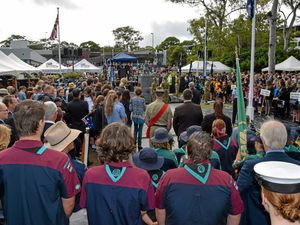 Lest we forget: Coffs Coast commemorates Anzac Day