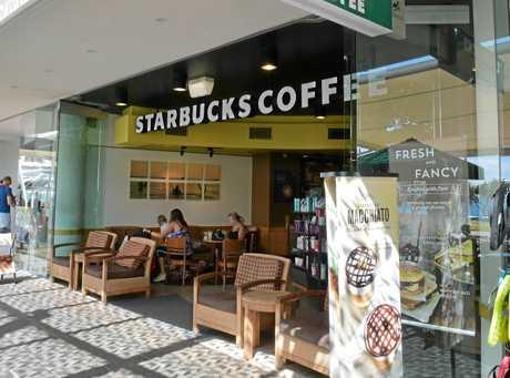 Starbucks Mooloolaba is closing down. Photo: Warren Lynam / Sunshine Coast Daily