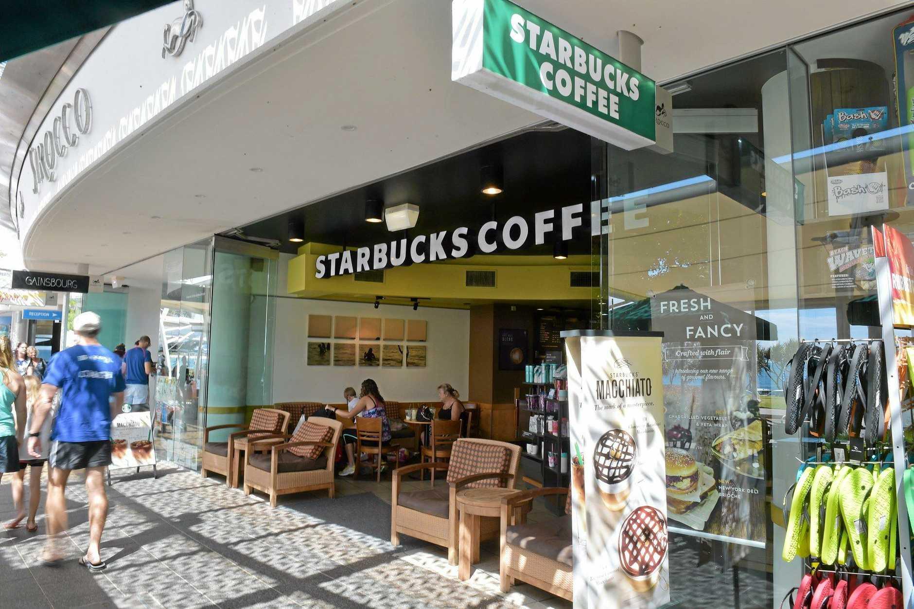 Starbucks Grinds To A Halt On The Sunshine Coast Sunshine