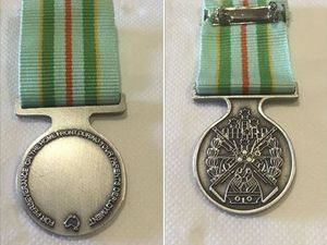 Precious medal lost at Anzac Day service returned