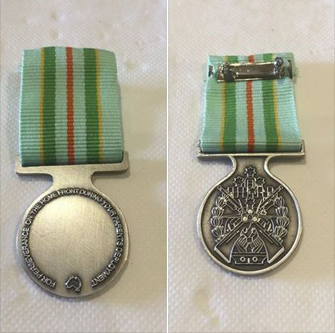 These medals have been returned to the rightful owner.