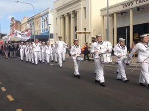 Maryborough Anzac parade