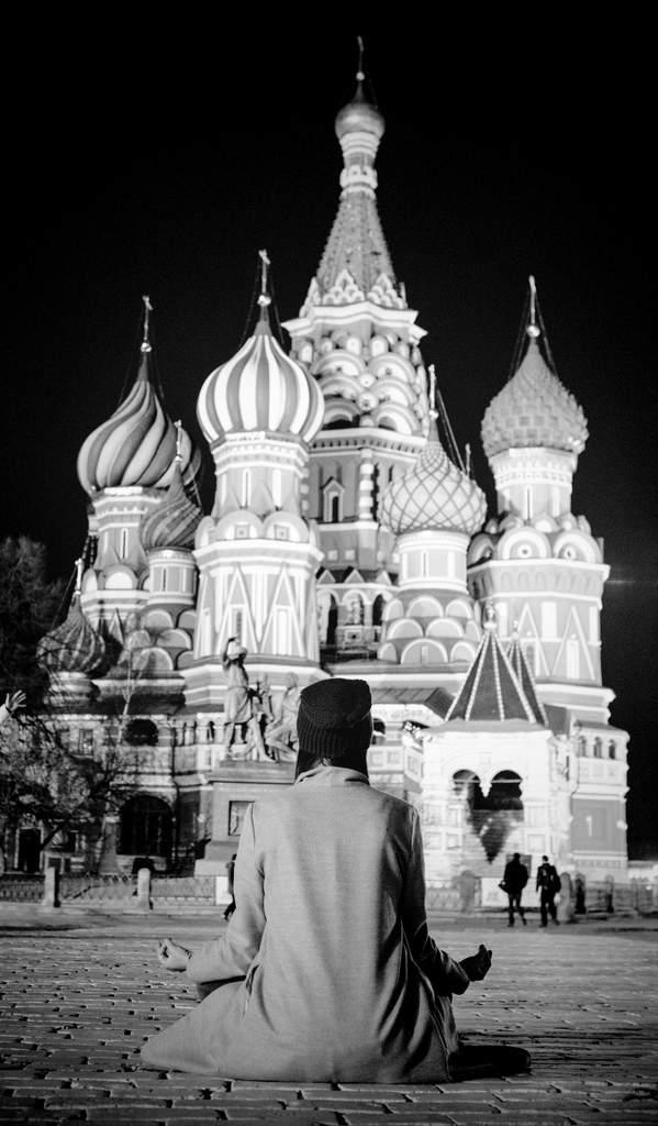 Moscow meditation.