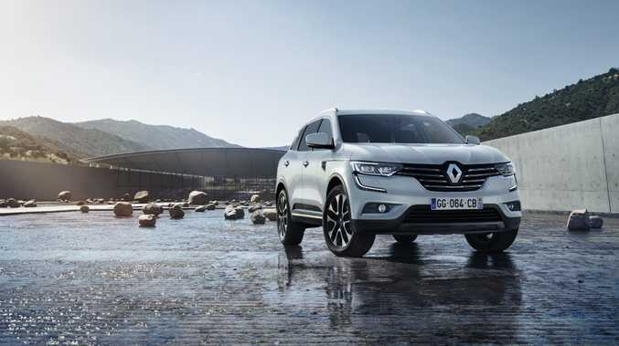 COMING SOON: Renault takes on the bigger SUV boys with a larger and more upmarket version of its Koleos.