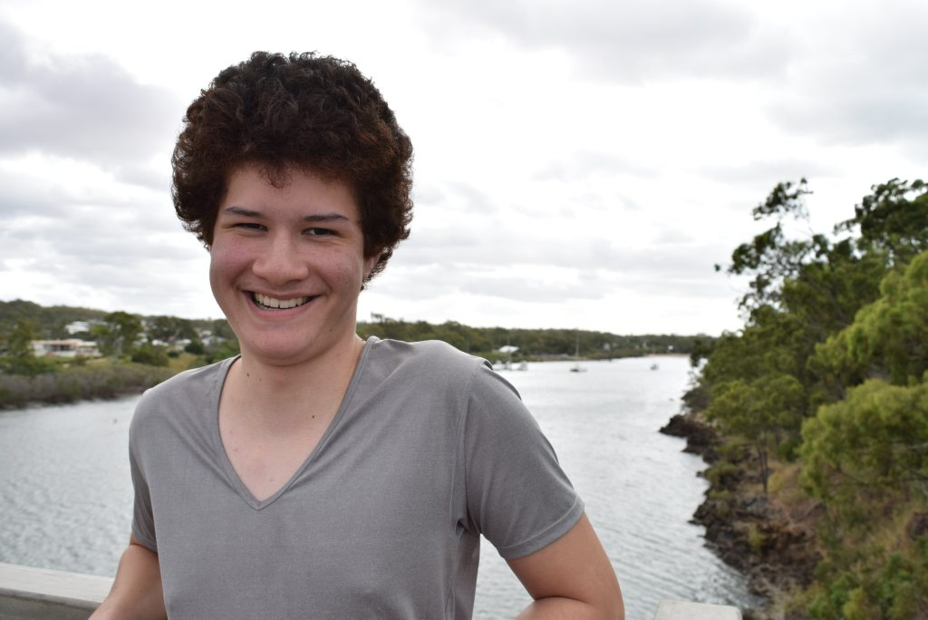 Twenty-year-old Jordan Puku has decided to run as an independent candidate for the federal seat of Flynn. Photo Campbell Gellie / The Observer