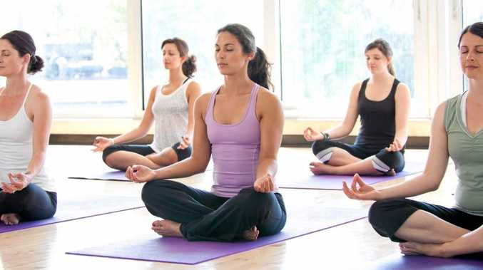 MIND AND BODY: The largest yoga class in Coffs Harbour will be held at Southern Cross University tomorrow.