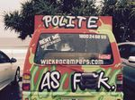 'Get Wicked campers off our roads', says councillor
