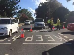 Traffic crash in Toowoomba