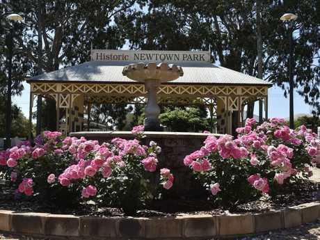 Newtown Park State Rose Garden