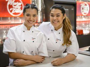 MKR winners Tasia and Gracia get saucy