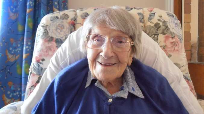 Maren Hansen turns 108 next week.
