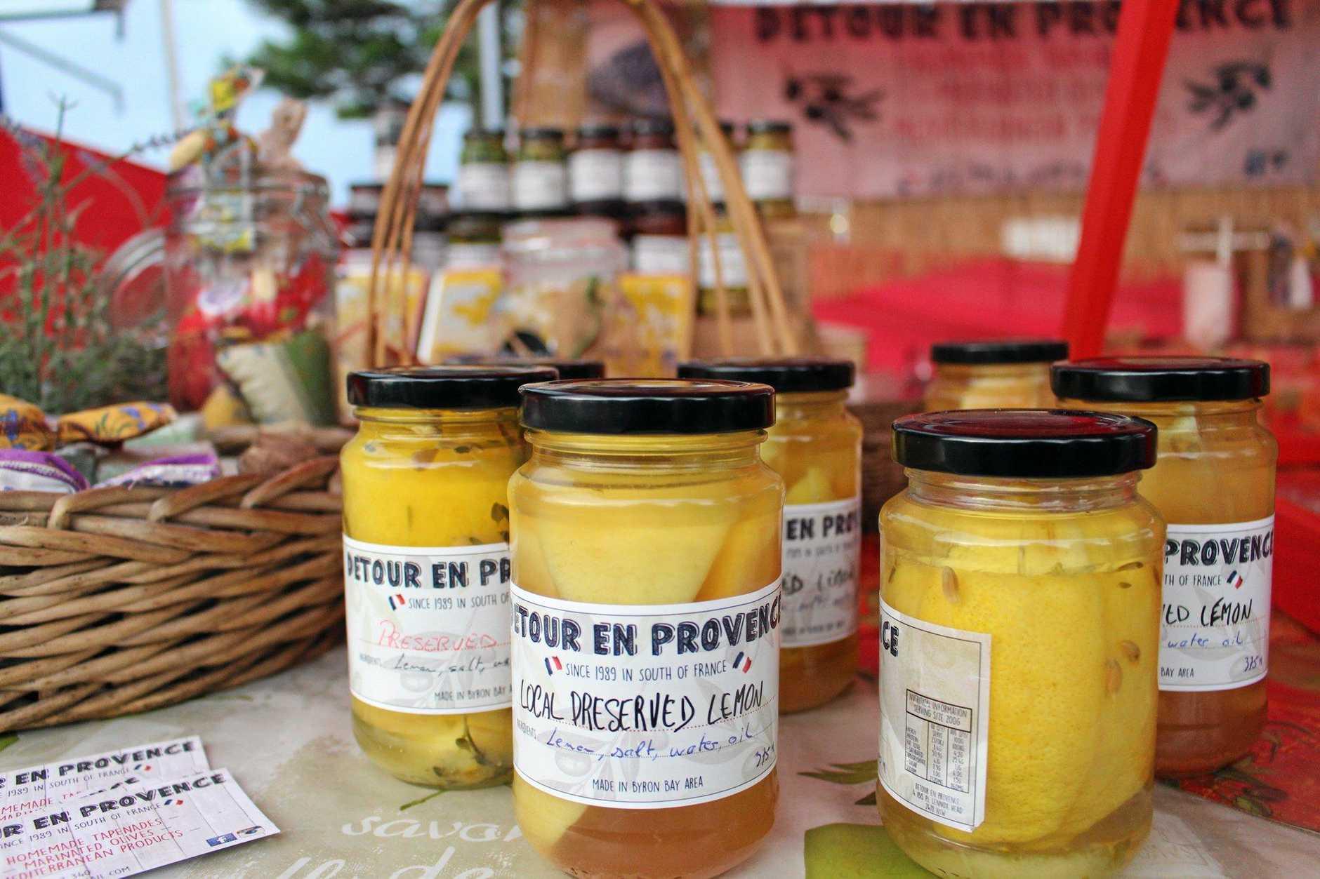 Produce at the Ballina Twilight Market.
