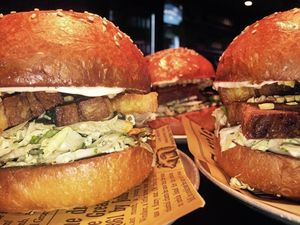 Gourmet burger bar in CBD excites food lovers