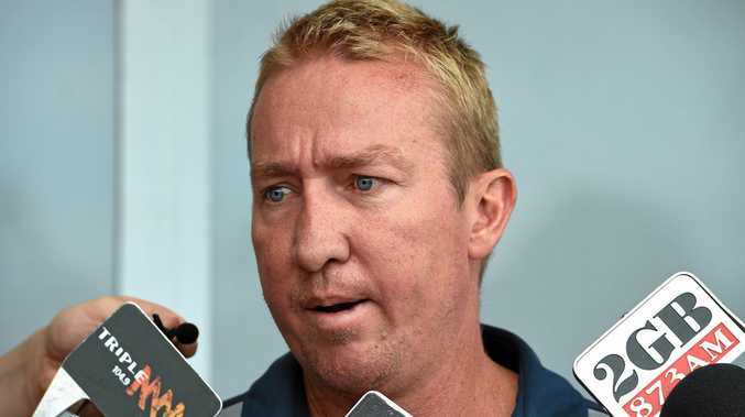 Roosters coach Trent Robinson was left frustrated by the bunker's decision.
