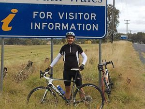 Gympie guys pedal for brain cancer cure