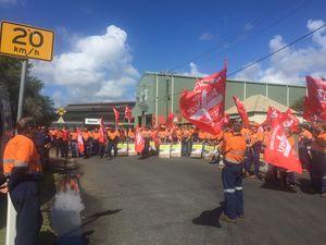 "EDI RALLY: ""Save our jobs, save Maryborough"""