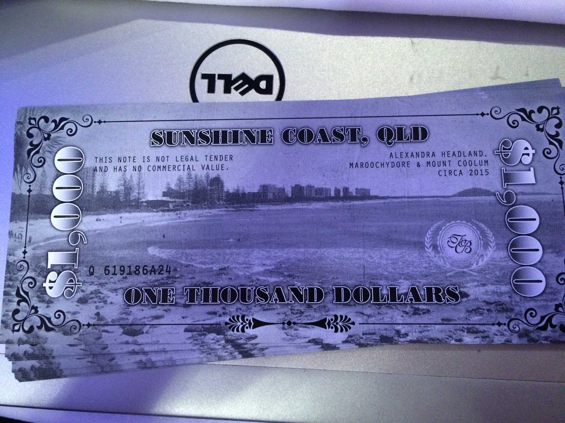 Sunshine Coast Dollars for the virtual auction.