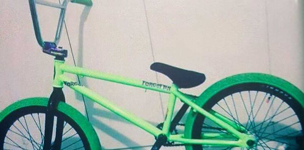 STOLEN BIKE: Thieves took this BMX bike was taken from Station Square in Maryborough on Wednesday afternoon.