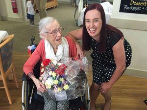 Beryl celebrates her 100th birthday