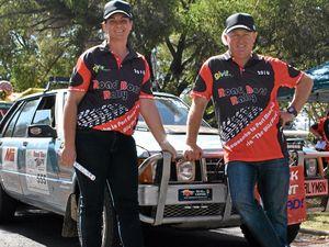 "Couple revving up for ""rallymoon"" across Australia"