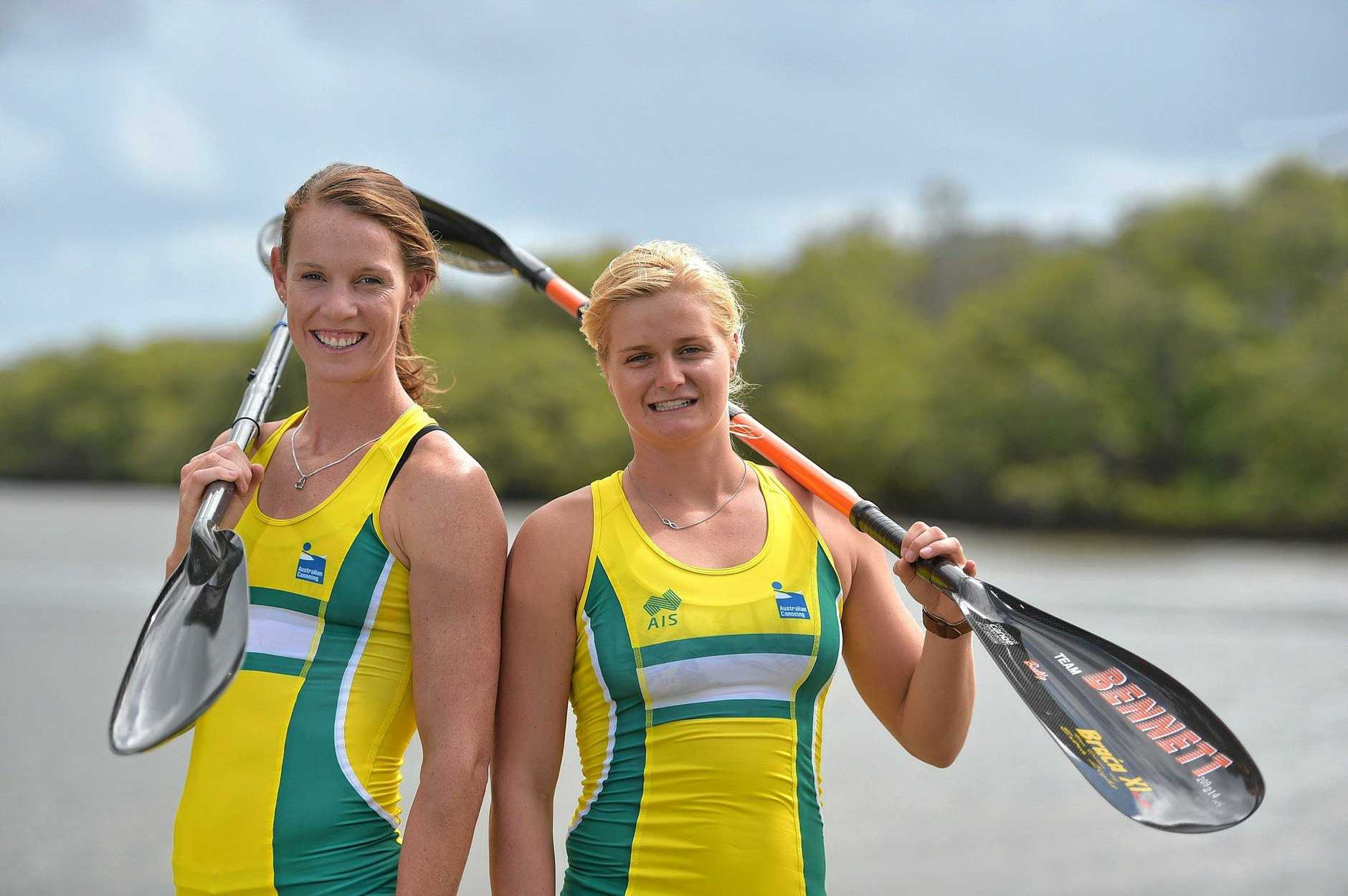 Top kayakers Alyce Burnett and Alyssa Bull chat to Weekend in the lead up to the 2016 Olympics where they'll represent Australia.