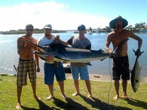 Local anglers land monster catch off Angourie Point