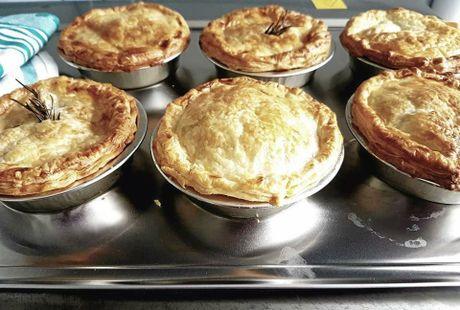 Mrs G's Gourmet Pies.