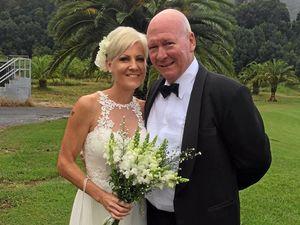 Golden girl Nikki Hudson weds her true love