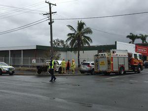 Crash at main Rockhampton CDB intersection