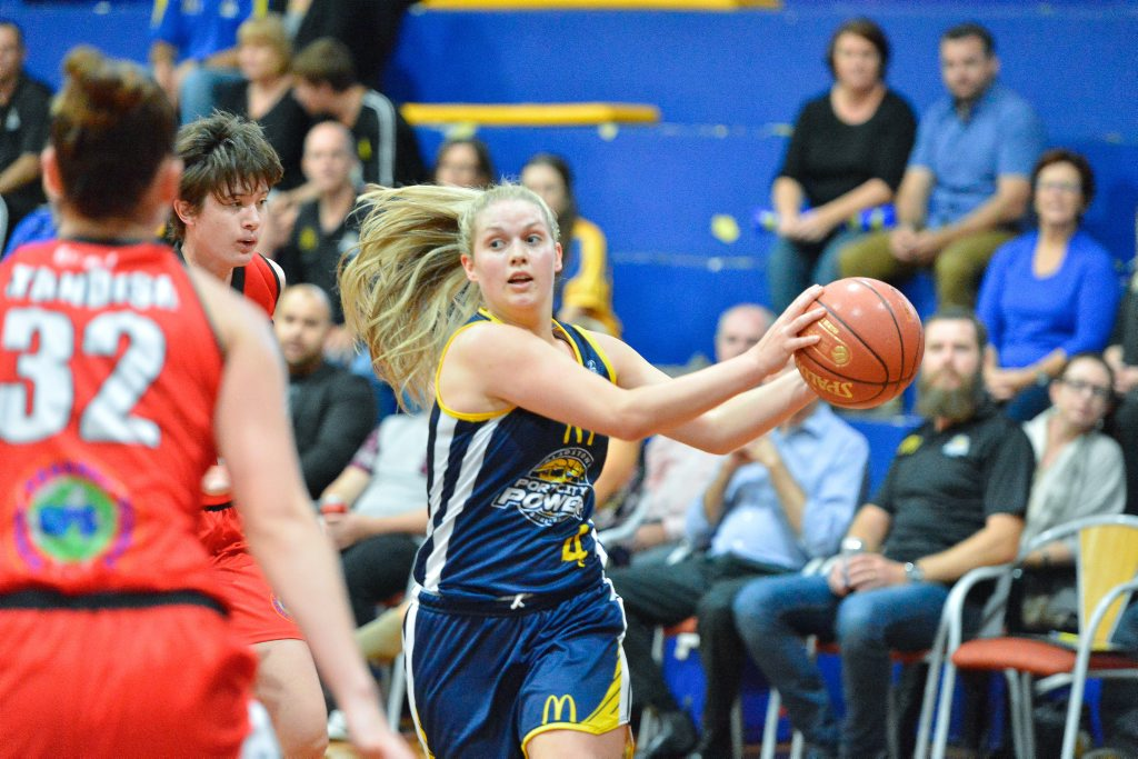 Gladstone Port City Power captain Maddy Willey will be a key against the Cyclones.