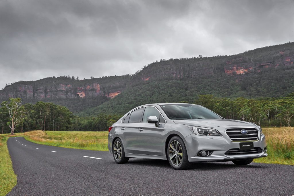 LONG LIVE LIBERTY: Large car sales may be dwindling, but talented all-rounders with high specifications like Subaru's Liberty question the need for SUVs.