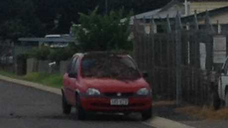 A Toowoomba man came back to his car parked on the street to find it covered in manure.
