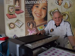 Business expands to printing photos on cakes and chocolates