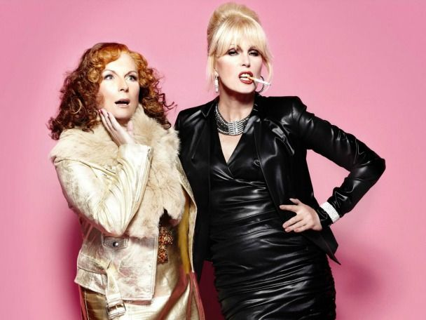 DYNAMIC DUO: Jennifer Saunders and Joanna Lumley will return to our screens in their feature film Absolutely Fabulous: The Movie.