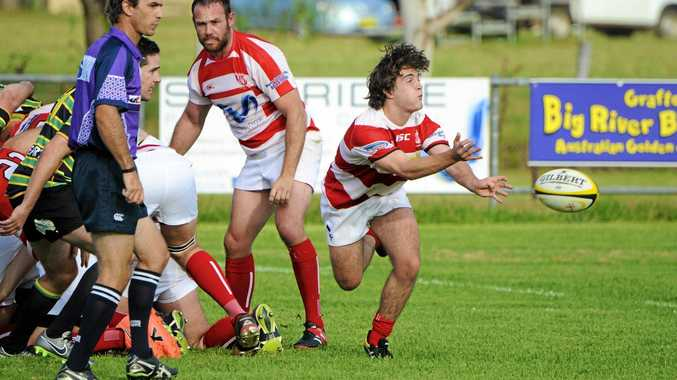 STEPPING UP: Grafton Redmen reserve grade scrum half Dom Bullock is a possibility to start for the McKimms Grafton Redmen side in a player shuffle to fill the void of injured five-eighth Harry Semple.