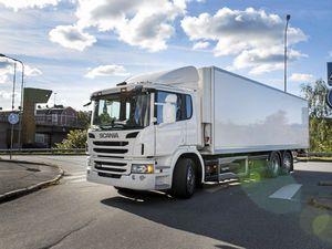 Scania's hybrid truck wins innovation prize