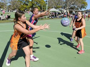 Netballers return to courts after month-long hiatus