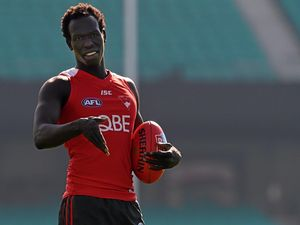 Former Hornet Aliir Aliir ready to take flight with Swans