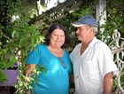 NO REBATE: Michelle and Wayne Connell, pictured outside their Gympie home, contemplate the fight ahead.