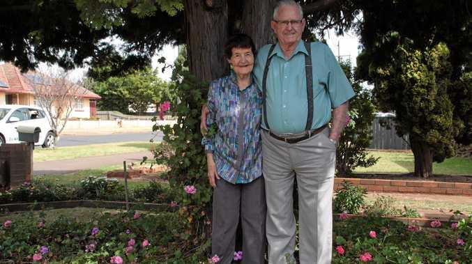 DIAMOND ANNIVERSARY: Jack and Joan Phelan celebrate their 60th wedding anniversary this year.