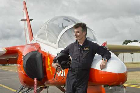 Stephen Gale with his SIA Marchetti S211 jet