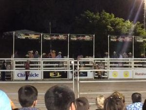 Bucking good night at Hervey Bay PBR