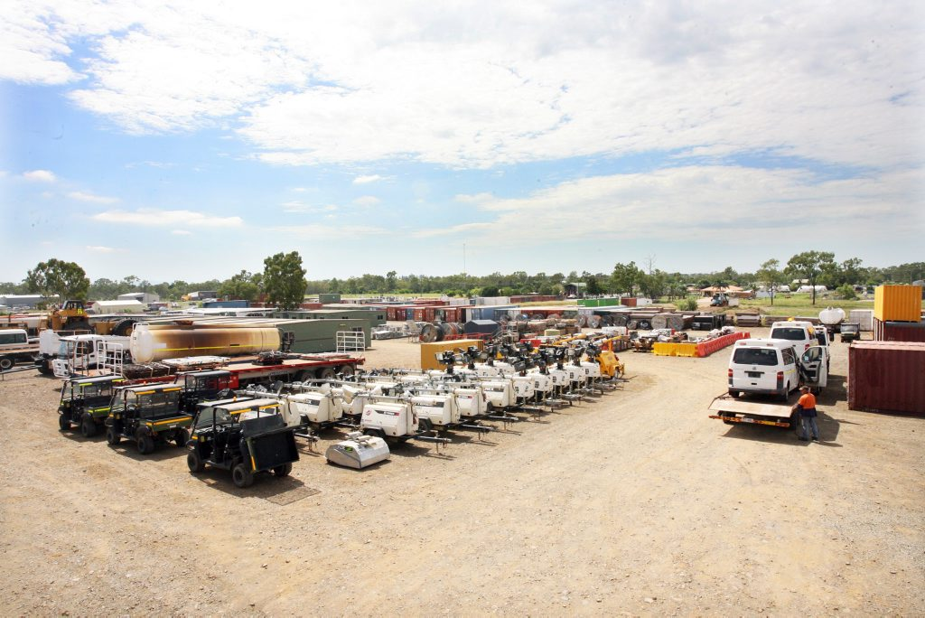 GROWING INDUSTRY: With the completion of the LNG project at Curtis Island, Hassalls are disposing of the construction equipment through monthly auctions attracting large numbers of out of town buyers along with many locals. Photo Tamara MacKenzie / The Morning Bulletin