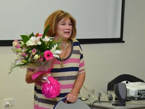 Swimming legend shares her cancer story at relay launch