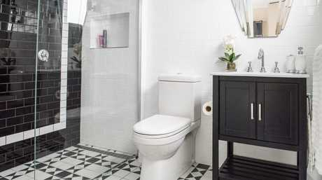 Luke and Cody Cook's winning master ensuite from week one of the TV series House Rules.