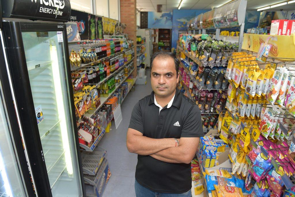 Peregian Beach Friendly Grocer supermarket owner Amit Shastri