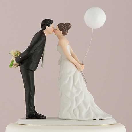 A wedding cake topper is a small model that sits on top of the wedding cake and it might not have been what the thief was hoping for.