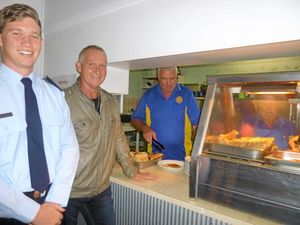 Lions club members happy to do their duty for Anzac Day
