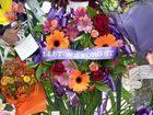 ANZAC Day Gympie Memorial Gate tributes.