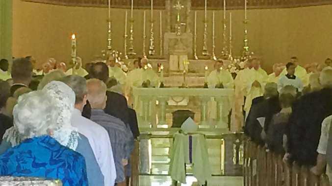 The funeral for Lismore Bishop John Satterthwaite.